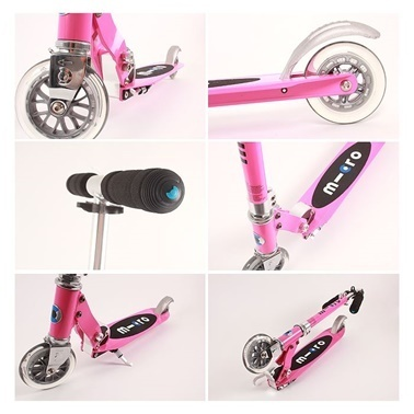 Micro Micro Scooter Sprite Pink Pembe